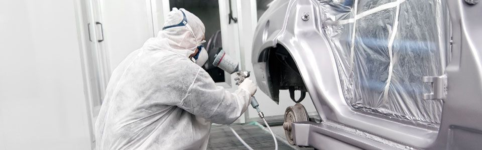 Kitchener-Waterloo's Preferred Auto Body and Collision Shop | Spraybooth